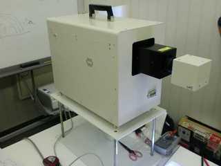 PEC-L15 デスクトップで大面積照射